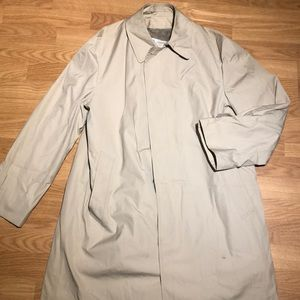 London fog trench coat 40 short tan
